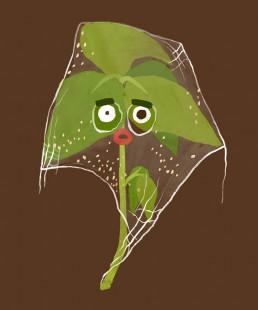 Spinnmilbe - Illustrationen für das Kartenspiel der Gemüseackerdmie von Jennifer Daniel