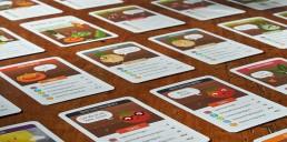 Illustrationen für das Kartenspiel der Gemüseackerdmie von Jennifer Daniel