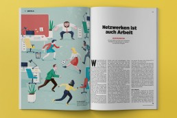Editorialillustration zum Thema